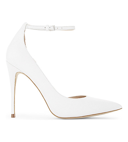 ALDO Staycey leather courts (White