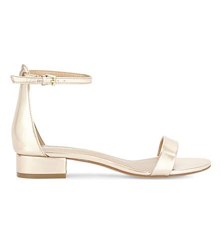 ALDO Angilia flat sandals (Metallic+miscellaneous