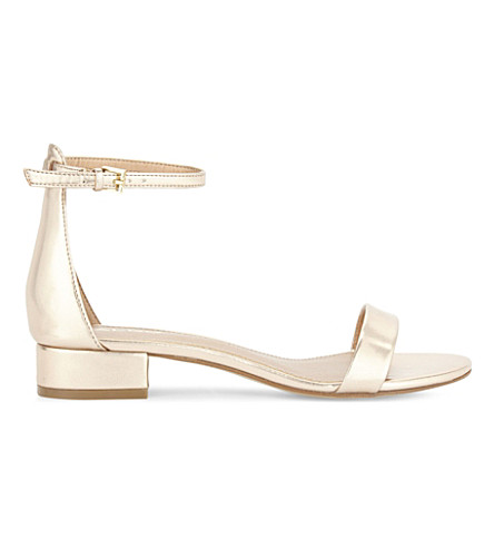 ALDO Angilia flat sandals (Metallic+miscellaneous