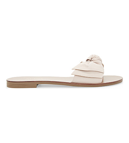 ALDO Prettie leather slide sandals (Light+pink