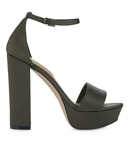 ALDO Nesida block heels (Khaki