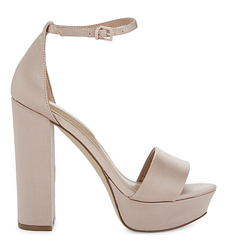 ALDO Nesida block heels (Light+pink
