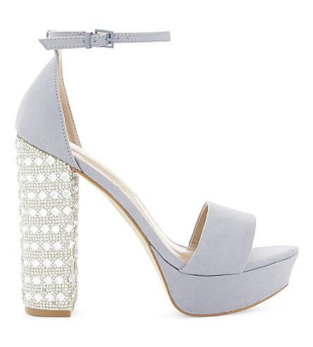 ALDO Nesida cystal-heeled sandals (Light+blue