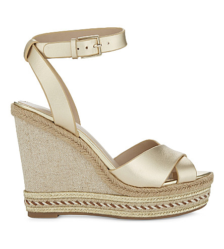 ALDO Clodia wedge sandals (Gold