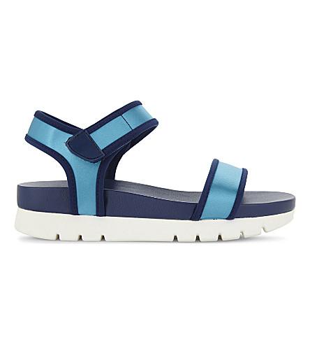 ALDO Robby flatform sandals (Turquoise