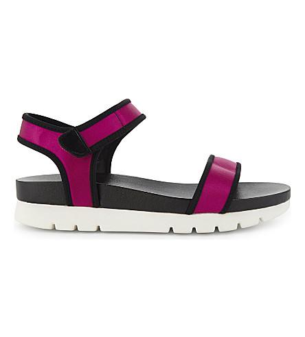 ALDO Robby flatform sandals (Fushia
