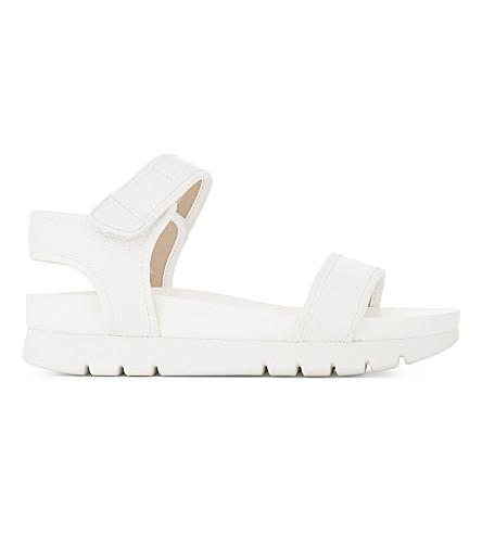 ALDO Robby flatform sandals (White