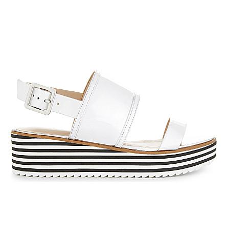 ALDO Jin metallic platform sandals (Silver