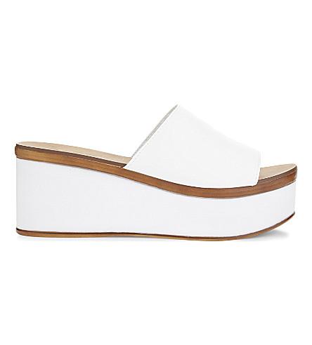 ALDO Rubicone platform sandals (White