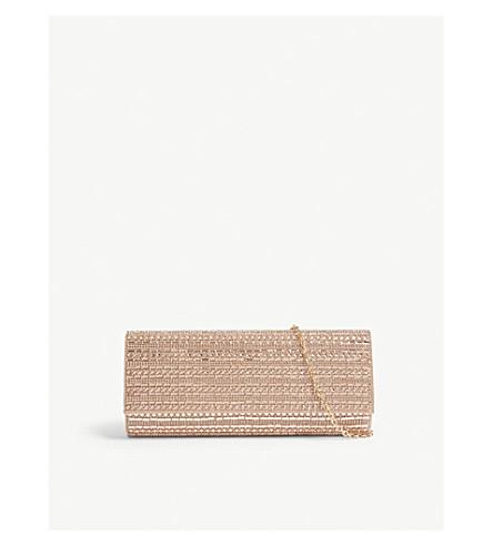 ALDO Bascemi embellished clutch (Copper