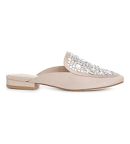 ALDO Marilisa satin slippers (Light+pink