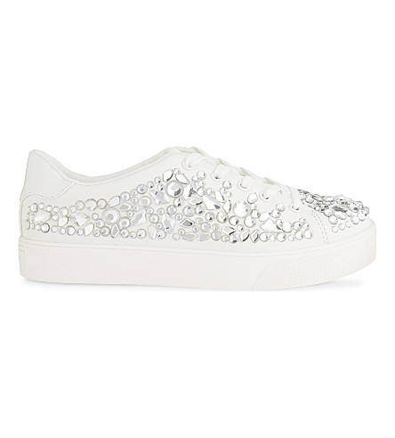 ALDO Zellina low-top trainers (White
