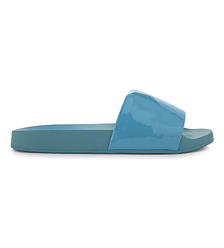 ALDO Maurizia scalloped slider sandals (Bluette