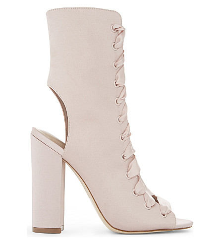 ALDO Rosamilia lace-up ankle boots (Light+pink