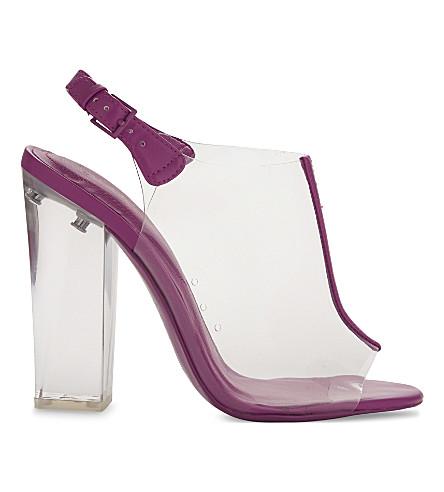 ALDO Floriza high heeled court shoes (Fushia+miscellaneous