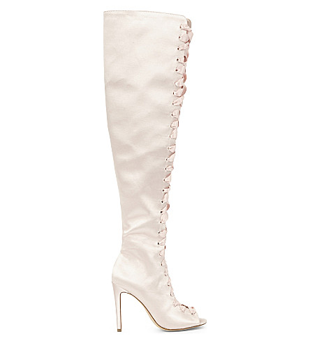 ALDO Cherisse over-the-knee boots (Light+pink