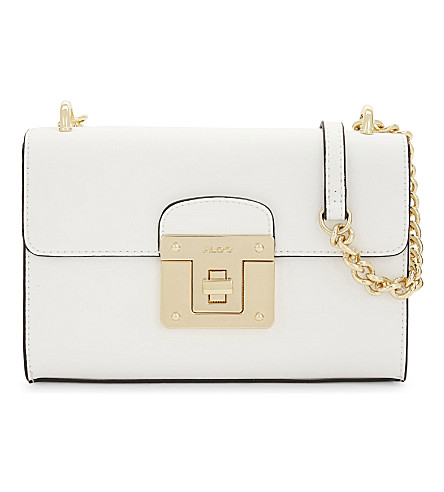ALDO Pozzacchio cross-body bag (White