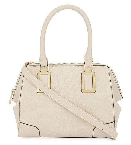 ALDO Bershad faux-leather tote (Light+pink