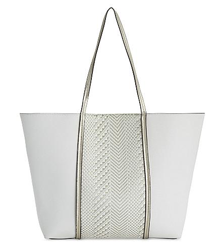 ALDO Asenawia chevron shopper (White+miscellaneous