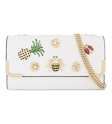 ALDO Ralille badge purse (White+miscellaneous