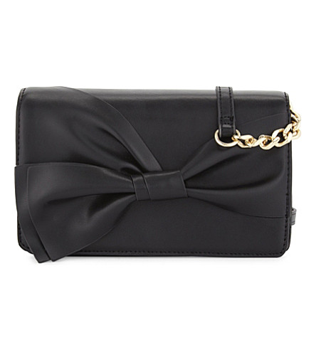 ALDO Aloewen cross-body bag (Black+nubuck