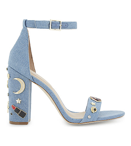 ALDO Larelle denim heeled sandals (Denim