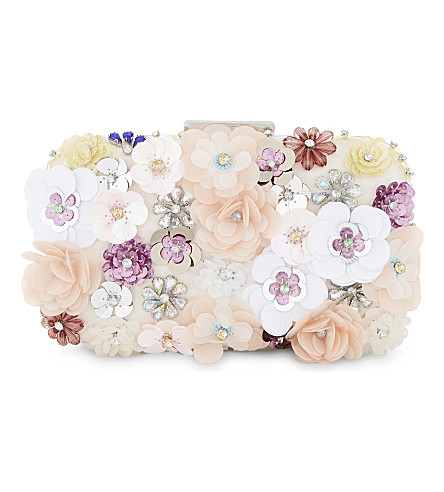 ALDO Daromara floral clutch (Light+pink