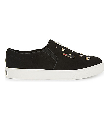 ALDO Toogood embellished trainers (Black