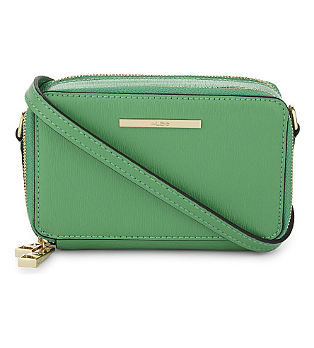 ALDO Fraisse star cross-body bag (Green