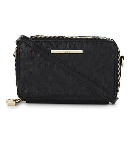 ALDO Fraisse star cross-body bag (Black