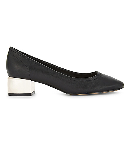 ALDO Leonora leather courts (Black+leather