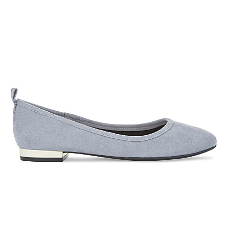 ALDO Kaye suede ballet flats (Light+blue
