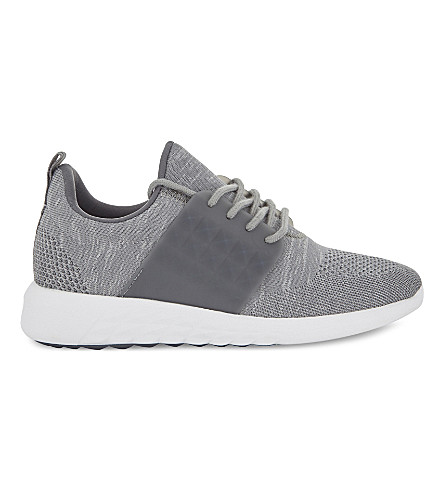 ALDO Mx.1 lace-up trainers (Grey