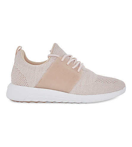 ALDO Mx.1 lace-up trainers (Light+pink