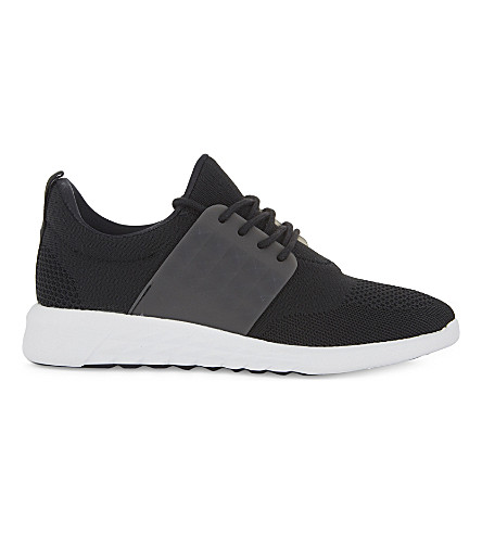 ALDO Mx.1 lace-up trainers (Black