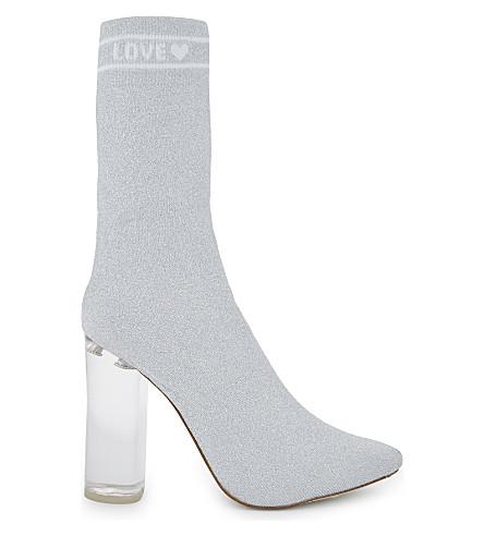 Aldo Kitten heel sock boots rzxnlbNCy
