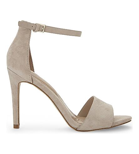 ALDO Fiolla suede heeled sandals (Bone