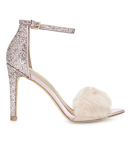ALDO Fiolla glitter sandals (Fushia