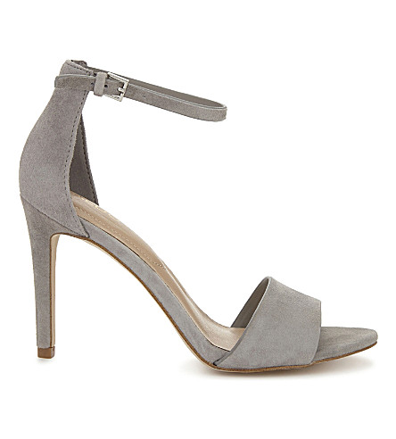 ALDO Fiolla suede heeled sandals (Light+blue