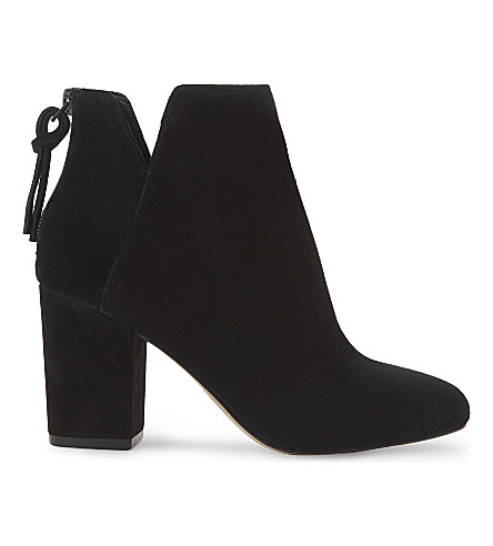 ALDO Dominicaa suede ankle boots (Black+suede