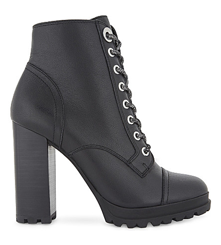ALDO Marille leather biker boots (Black+leather