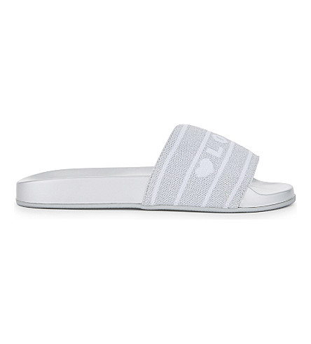 ALDO Beloved slider sandals (Silver