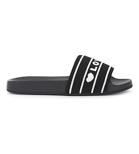 ALDO Beloved slider sandals (Black