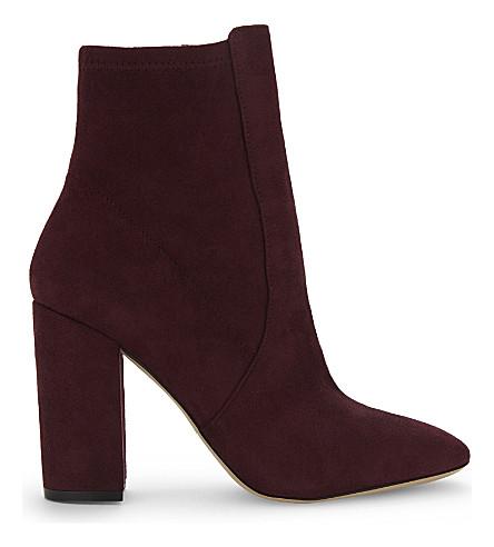 ALDO Aurella suede ankle boots (Bordo