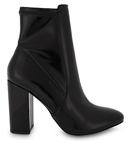 ALDO Aurella patent ankle boots (Black+patent