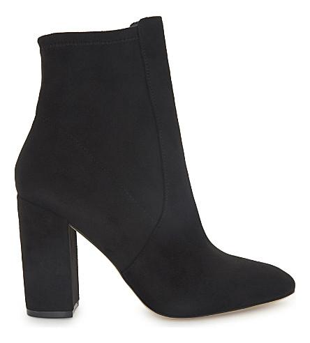 ALDO Aurella 磨砂踝靴 (黑色