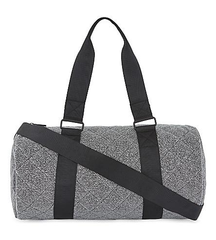 ALDO Daroegel metallic finish duffel bag (Dark+grey