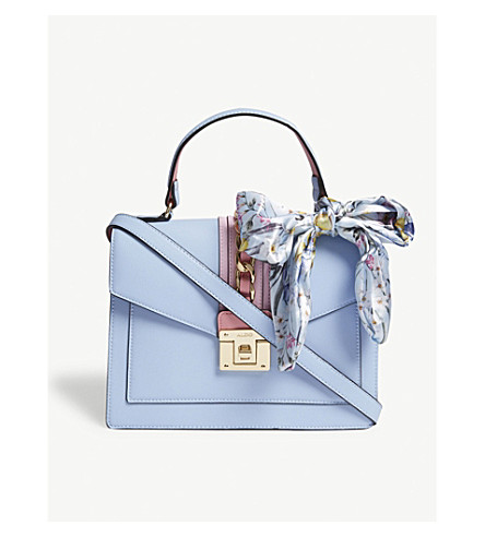 ALDO Glendaa panel detail cross-body (Light+blue