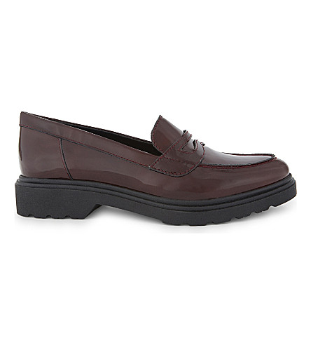 ALDO Kaiari patent leather loafers (Bordo