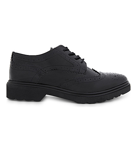 ALDO Kedelani patent leather brogues (Black+patent